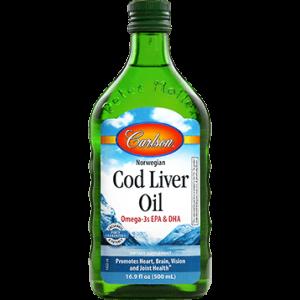 Cod Liver Oil Regular Flavor 500ml by Carlson Labs