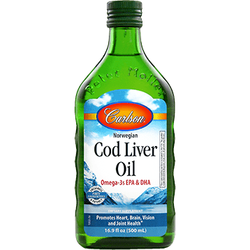 Cod Liver Oil Regular Flavor 500ml By Carlson Labs