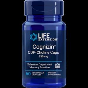Cognizin CDP-Choline Caps 60vcaps by Life Extension
