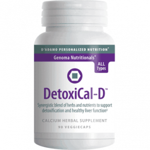 Detoxical D 90vcaps By D'adamo Personalized Nutrition