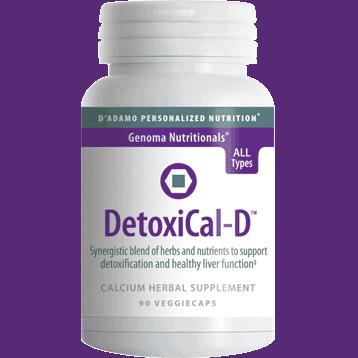 DetoxiCal-D 90vcaps by D'Adamo Personalized Nutrition