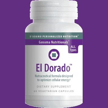 El Dorado 60vcaps by D'Adamo Personalized Nutrition