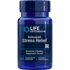 Enhanced Stress Relief 30vcaps by Life Extension