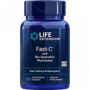 Fast-C and Bio-Quercetin 60vtabs by Life Extension