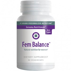 Fembalance 90vcaps By D'adamo Personalized Nutrition