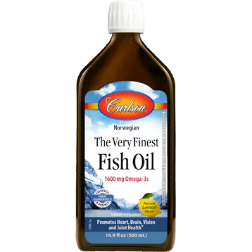 Finest Fish Oil Omega 3 500ml By Carlson Labs