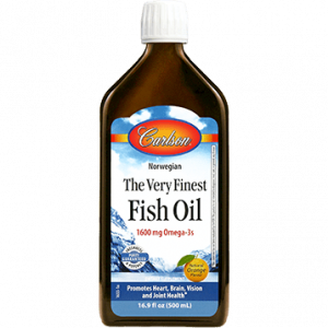 Fish Oil Orange 500ml By Carlson Labs