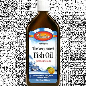 Fish Oil Orange 500ml by Carlson Labs