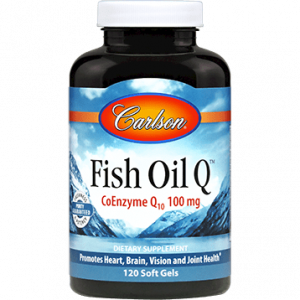 Fish Oil Q 120sgels By Carlson Labs