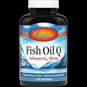 Fish Oil Q 120sgels by Carlson Labs