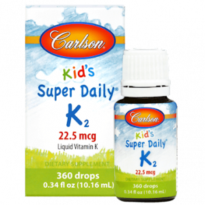 Kid's Super Daily K2 10.16ml By Carlson Labs