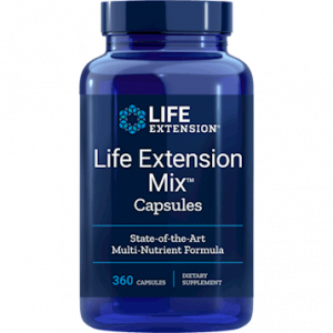Life Extension Mix Capsules 360c by Life Extension