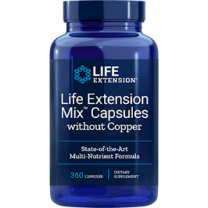 Life Extension Mix w/o Copper 360c by Life Extension