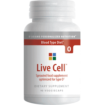 Live Cell O 90vcaps by D'Adamo Personalized Nutrition