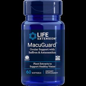 MacuGuard w/ Saff & Astax 60sgels by Life Extension