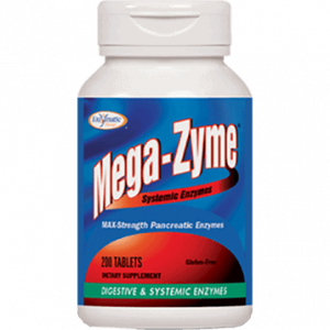 Mega-Zyme 200t by Enzymatic Therapy