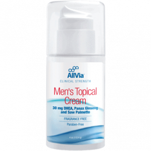Men's Topical Cream 4oz By Allvia Integrated Pharmaceuticals