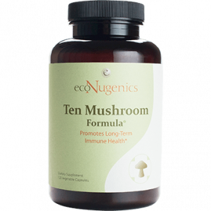 MycoCeutics Ten Mushroom Forml 120c by EcoNugenics Labs