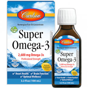 Norwegian Super Omega 3 100ml By Carlson Labs