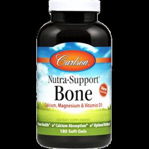 Nutrasupport Bone 180sgels By Carlson Labs