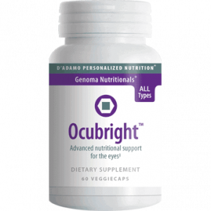 Ocubright 60vcaps By D'adamo Personalized Nutrition