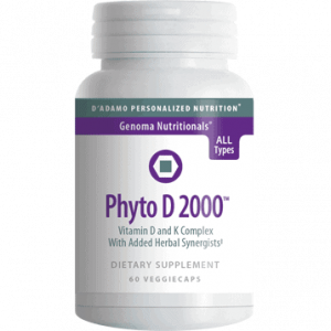 Phyto D 2000 60vcaps By D'adamo Personalized Nutrition