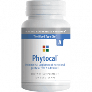 Phytocal A 120vcaps By D'adamo Personalized Nutrition
