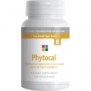 Phytocal B 120vcaps By D'adamo Personalized Nutrition