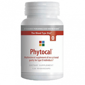 Phytocal O 120vcaps By D'adamo Personalized Nutrition