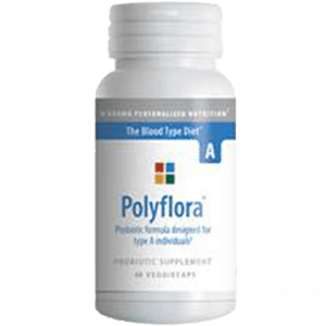 Polyflora A 120vcaps By D'adamo Personalized Nutrition