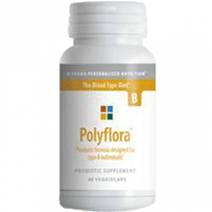 Polyflora B 120vcaps By D'adamo Personalized Nutrition