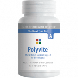 Polyvite A 120vcaps by D'Adamo Personalized Nutrition