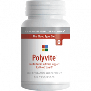 Polyvite O 120vcaps By D'adamo Personalized Nutrition