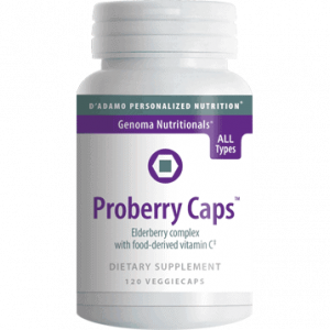 Proberry Caps 120vcaps By D'adamo Personalized Nutrition