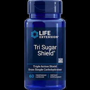 Tri Sugar Shield 60 vcaps by Life Extension