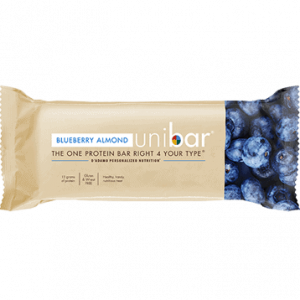 Uni Bar Blueberry Almond 12 Bars By D'adamo Personalized Nutrition