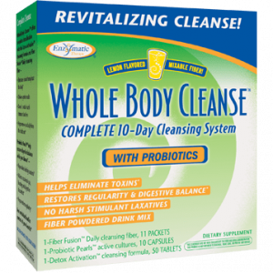Whole Body Cleanse with Probiotics 1kit by Enzymatic Therapy