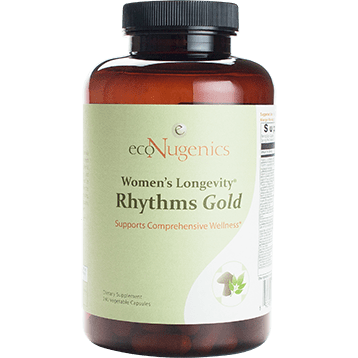 Women's Longevity Rhythms Gold 240vcaps By Econugenics