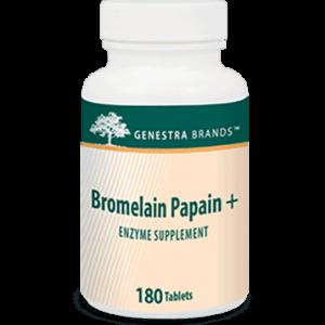Bromelain Papain + 180t by Genestra Seroyal
