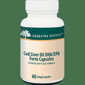Cod Liver Oil DHA/EPA Forte 60sgels by Genestra Seroyal