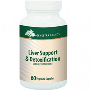 Liver Support and Detox 60vcaps by Genestra Seroyal