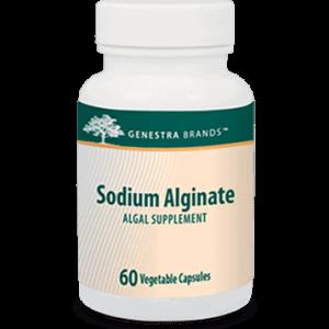 Sodium Alginate 400 mg 60 vcaps by Genestra Seroyal
