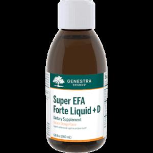 Super EFA Forte Liq + D Orange 6.8 fl oz by Genestra Seroyal