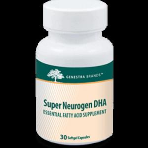 Super Neurogen Dha 30 Gels By Genestra Seroyal