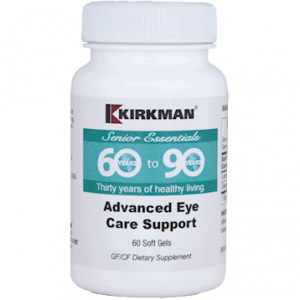 Advanced Eye Care Support 60 Sgels By Kirkman Labs