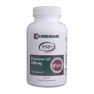 Coenzyme Q10 120mg 90 Caps By Kirkman Labs