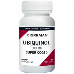 Ubiquinol 100 Mg Super Coq10 60 Softgels By Kirkman Labs