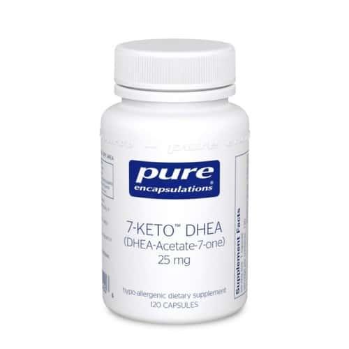 7-Keto DHEA 25mg 120c by Pure Encapsulations
