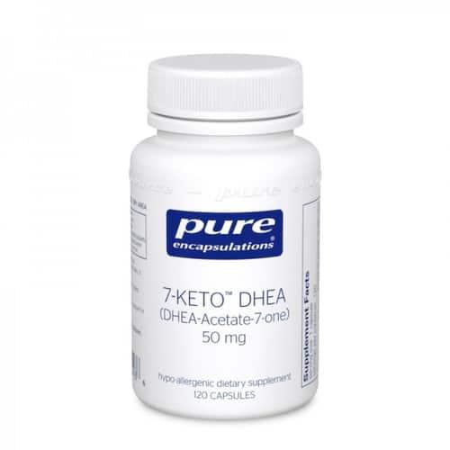 7-Keto DHEA 50mg 120c by Pure Encapsulations