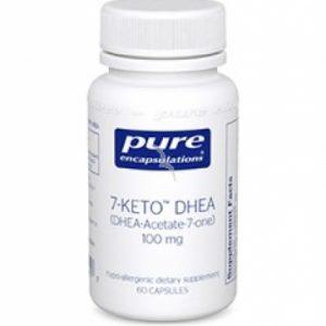 7-Keto DHEA 50mg 60c by Pure Encapsulations